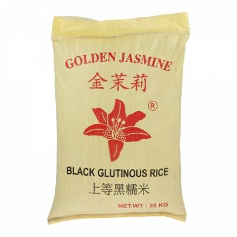 Golden Jasmine Black Glutinous Rice 25KG