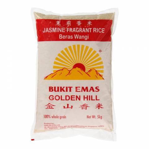 Golden Hill Jasmine White Rice 5KG