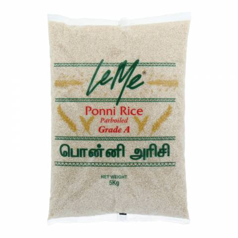 LeMe Ponni Parboiled Rice 5KG