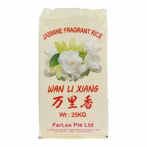 Wan Li Xiang KDM Jasmine White Rice 25KG