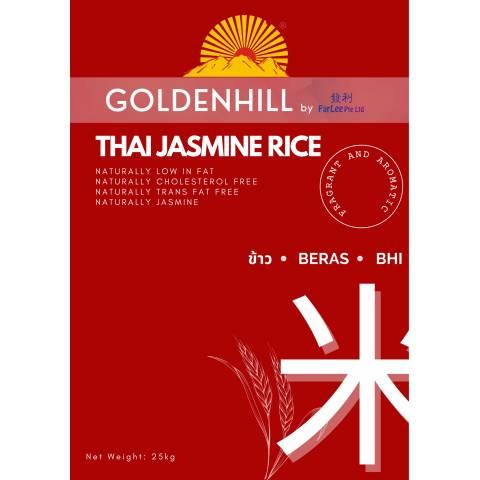Golden Hill Thai Jasmine 25KG